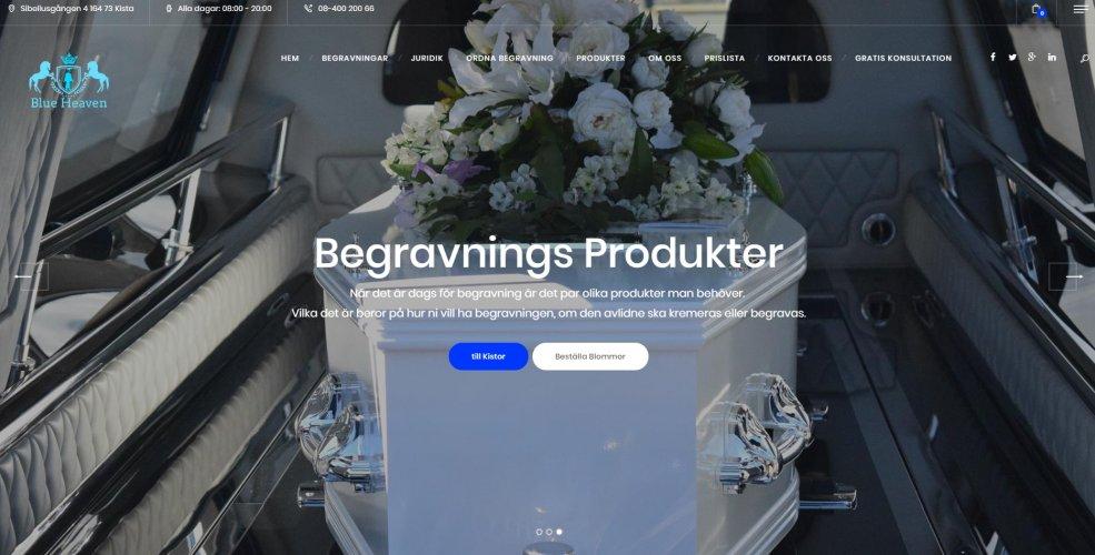 Blue Heaven Begravningsbyrå
